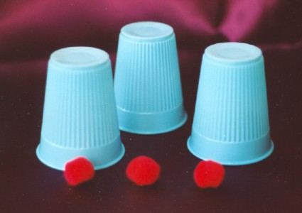 puodeliai ir rutuliukai